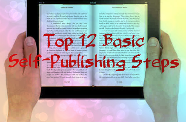 12 basic steps for self publishing