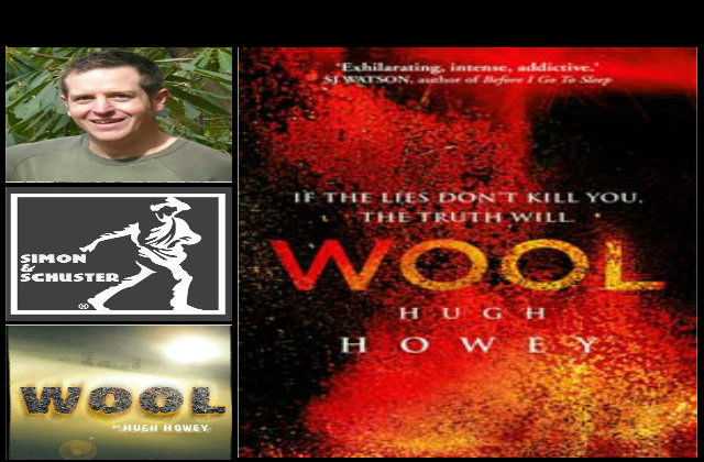 hugh howey, simon&schuster, wool